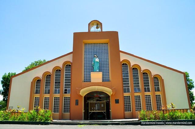 Chapel inside Fort Magsaysay