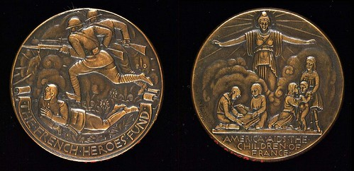 French Heroes Fund Medal
