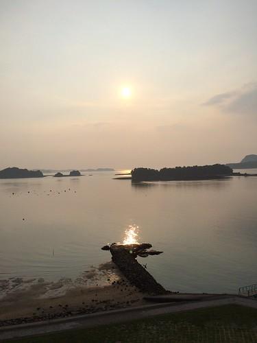 ホテル竜宮_夕陽