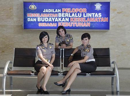 polwan cantik indonesia