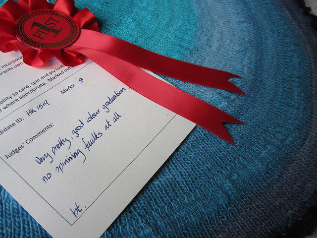 Fibre East spinning competition 2015 (8)