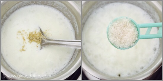 Sabudhana Kheer for Babies - step 3