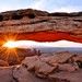 Sunrise at Mesa Arch by Kevin Benedict Photography