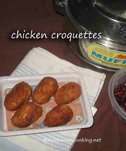 Chicken-croquette