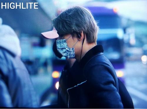 BIGBANG departure Seoul to Fukuoka 2016-12-09 (13)
