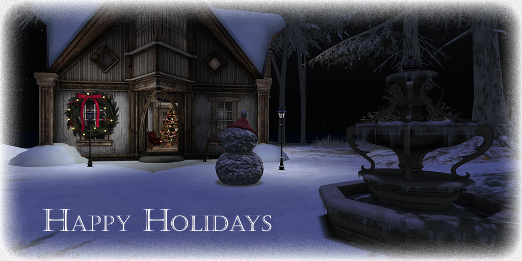 Happy Holidays from .:Soul:. - SecondLifeHub.com