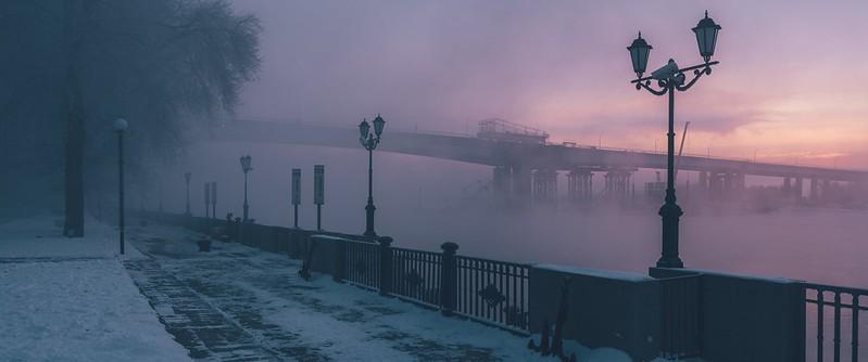 Winter morning in Rostov