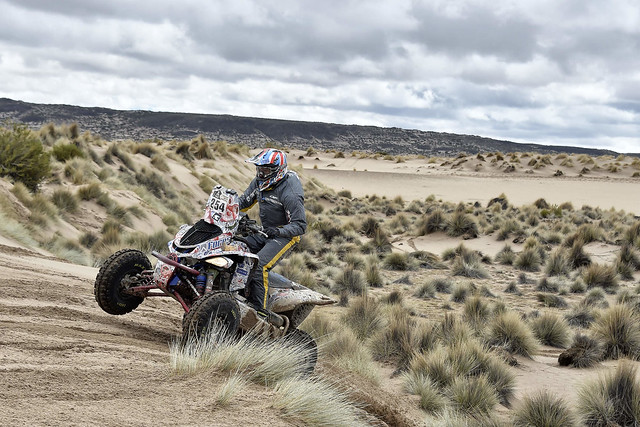 Сергей Карякин выиграл седьмой этап ралли Dakar 2017 и вновь возглавил итоговую классификацию зачета Quad