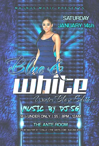 Blue & White Affair Winter Blaze Edition w DJ SG 1_14_17 V3