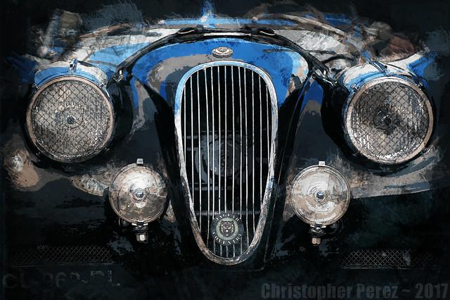 Jaguar XK120 ~ l'art et la voiture
