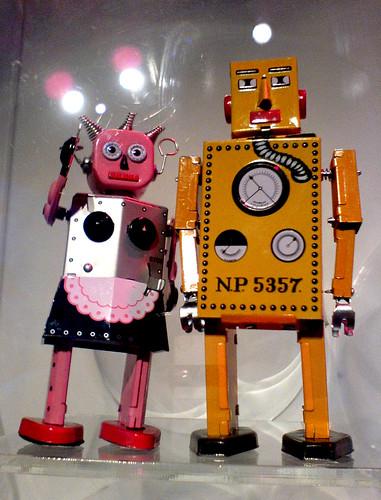 Toy Robots by mojonaz
