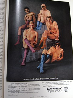 Interwoven Sock Ad