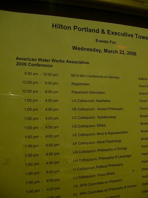 Header of American Water Works Association