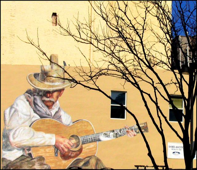 Cowboy Mural - Downtown Denver