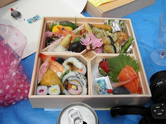 meal, lunch, ekiben, food, dish, cuisine, asian food, osechi, bento,