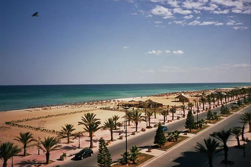 Playa de Yasmine Hammamet (Túnez)