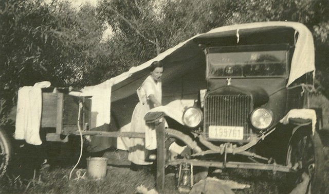 Camping in 1922
