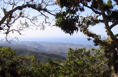 View from Gran Piedra mountain