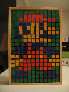 Rubik Mario Mosaic Project - hero shot