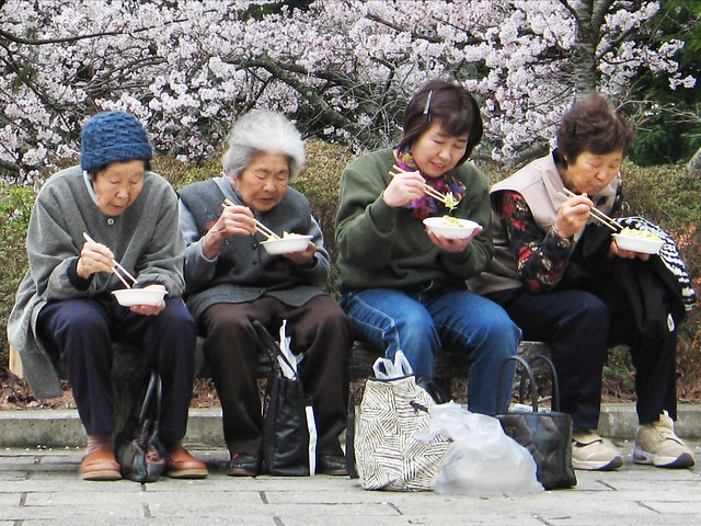 Hanami ladies
