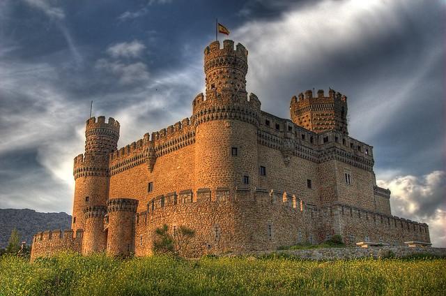 Castillo de Manzanares el Real (HDR)