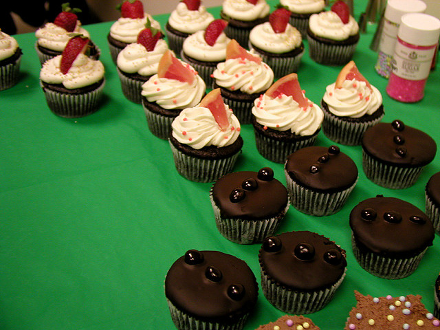 vegan cupcakes! | Flickr - Photo Sharing!