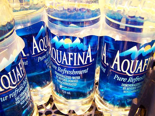 Aquafina...