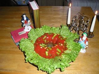 Molded Asparagus Salad