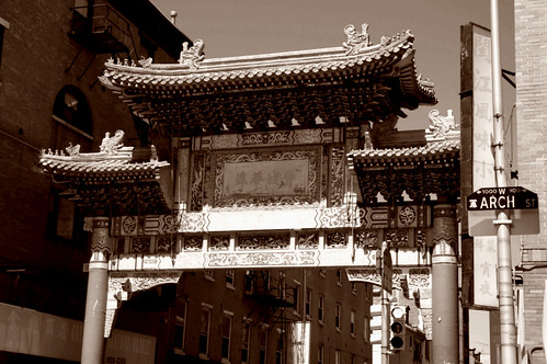 gate to chinatown