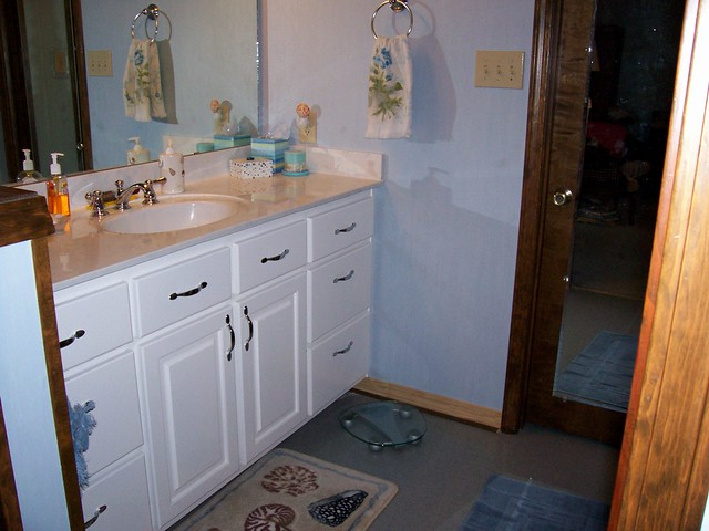 Bathroom after redecorating flickr photo sharing for Redecorating a small bathroom