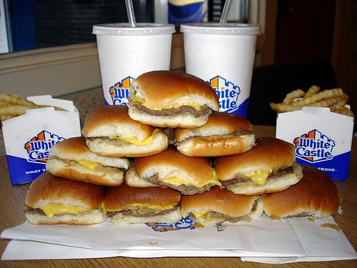 How to make White Castle burgers - Debbiedoos |White Castle Burger