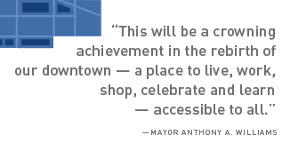 CityCenter DC quote from Mayor Williams