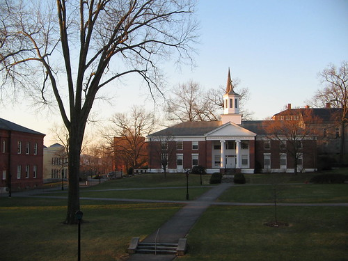 trees architecture sunrise dawn spring massachusetts april amherstcollege