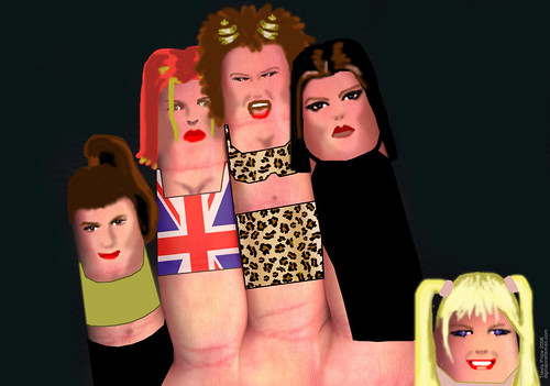 The Finger Family - Spice Girls