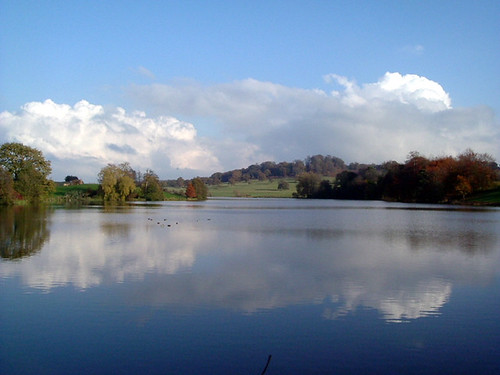 Sherborne Castle Lake