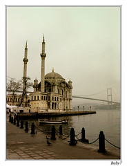The Bosphorus and Mosque