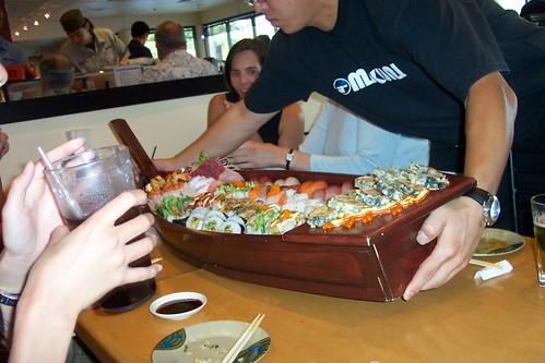 Insane Sushi Boat