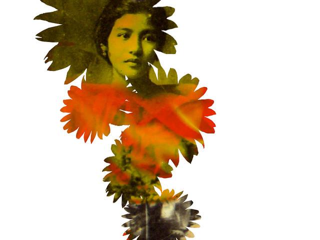vintage flowergirl