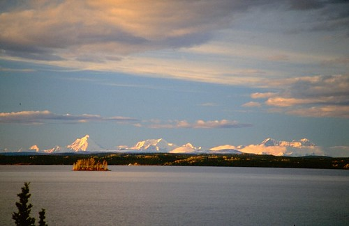 Lake and Denali Range