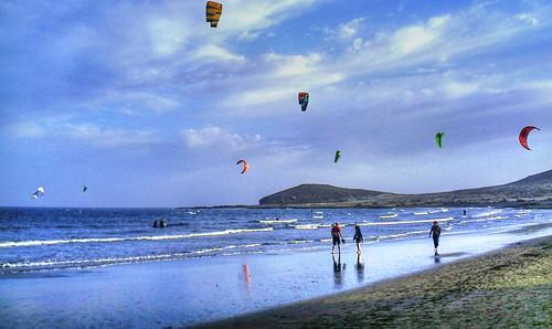 Playa del Medano Tenerife HDR