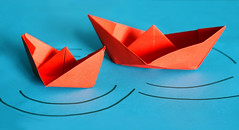 Paper Red 68 Photos | Little Red Boats | 585