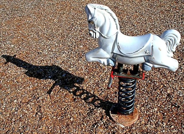 how to make a diy fiberglass horse ride