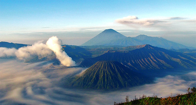 The Famous Bromo, Southeast Asia, Indonesia