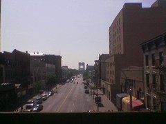 looking east on 125th