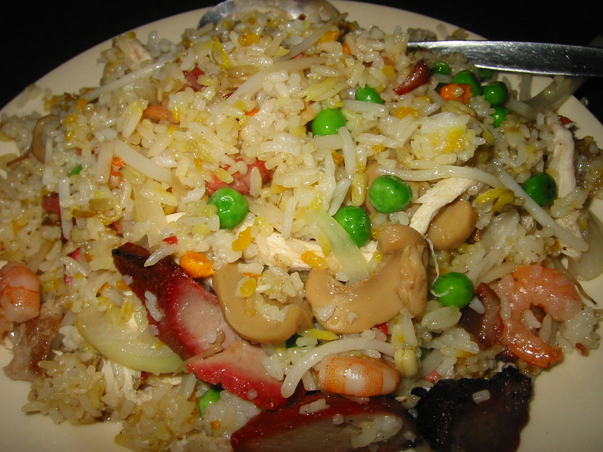Image Gallery house special fried rice