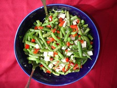 Dinner:  Green Bean Salad