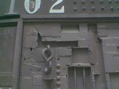 Door with character detail