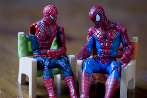 group therapy at the VA for Superheroes
