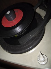 circle, gramophone record,