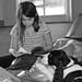 Kids read to therapy dogs at Dacula Library by Gwinnett County Public Library